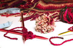 Knitting Suppllies Royalty Free Stock Image