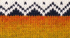 Knitting texture Stock Photo