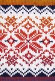 Knitting texture Stock Image