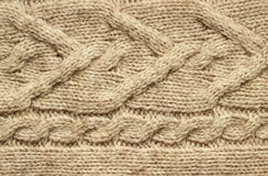 Knitting texture Stock Image
