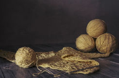 Knitting things. Royalty Free Stock Photos