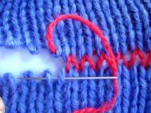 Knitting Threads Needle Royalty Free Stock Image