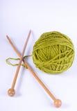 knitting tools Stock Photos