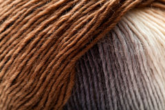 Knitting wool ball Royalty Free Stock Photos