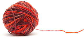 Knitting wool Royalty Free Stock Image