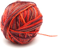 Knitting wool Royalty Free Stock Images