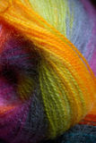 Knitting wool ball Royalty Free Stock Images