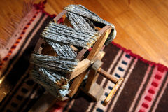 Knitting wool Stock Photography