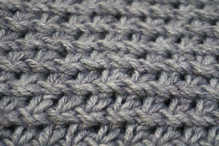 Knitting wool texture background. Stock Images