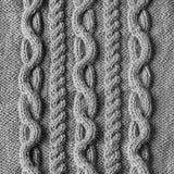 Knitting wool texture background Stock Photo
