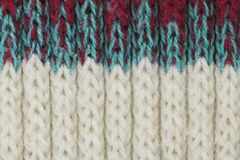 Knitting wool texture for pattern and background Stock Images