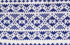 knitting wool texture Stock Image