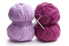 Knitting Yarn Royalty Free Stock Images