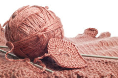 Knitting yarn Stock Photography