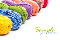 Knitting yarn Stock Images