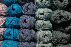 Knitting yarn balls Stock Image