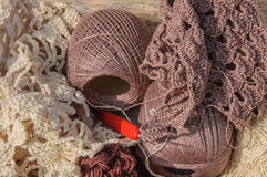 Knitting yarn Royalty Free Stock Photos