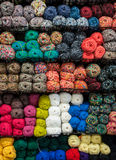 Knitting Yarn colors Royalty Free Stock Photos