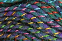 Knitting Yarn Pattern Stock Image