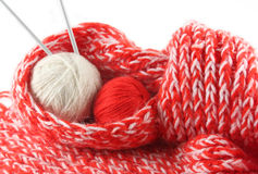 Knitting17 Royalty Free Stock Image