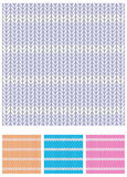 Knitwear. Seamless knitwear pattern designed as texture background. Elements grouped for easy change of colors Royalty Free Stock Photography