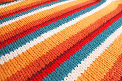 Knitwear. Colorful knitwear as a background Stock Photos