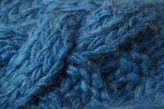 Knitwear closeup. Closeup detail of knitted fabric Stock Images