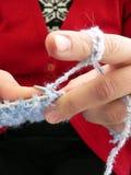Knitwear,kintting. Knitting Stock Photo