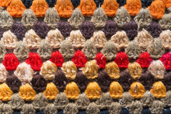 Knitwear ornament Royalty Free Stock Images