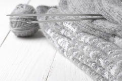 Knitwear stack Royalty Free Stock Photography