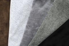 Knitwear welur fotografia stock
