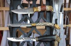 knivar royaltyfri foto