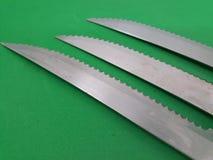 knivar royaltyfri fotografi