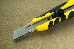 Knive nut Royalty-vrije Stock Foto's