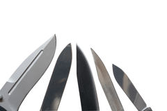 Knives Stock Photography