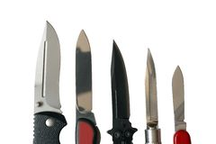 Knives Royalty Free Stock Images