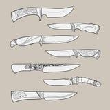Knives2 Photos libres de droits