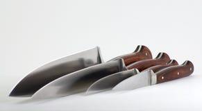 Knives at and Angle Royalty Free Stock Photo
