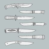 Knives3 Royalty Free Stock Images