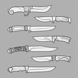 Knives1 Stock Image