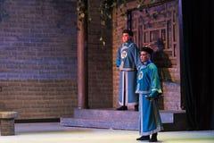 """Knivvakt-Shanxi Operatic""""Fu Shan till Beijing† Fotografering för Bildbyråer"""