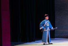 """Knivvakt-Shanxi Operatic""""Fu Shan till Beijing† Royaltyfria Bilder"""