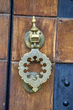 Knob door. Close up view at knob door Royalty Free Stock Photos