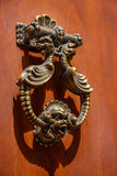 Knob & door. Royalty Free Stock Image