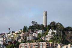 Knob Hill, San Francisco, California Royalty Free Stock Photography