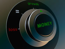 Knob money Stock Image