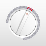 Knob new year Royalty Free Stock Images