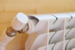 Knob of the radiator Royalty Free Stock Photos