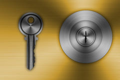 Knob Stainless steel Royalty Free Stock Photos