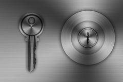 Knob Stainless steel Stock Image